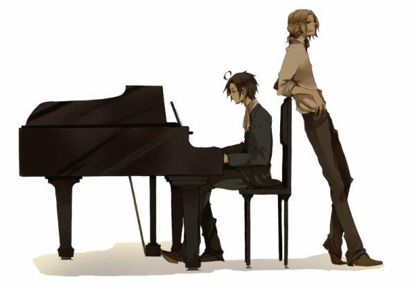 """Fan-arts """"duo/Francis"""""""