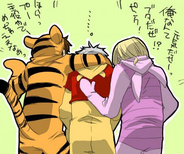 """Fan-arts """"Bad Friends Trio"""""""