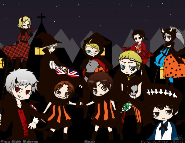 Fan-arts Halloween et debut d'autres