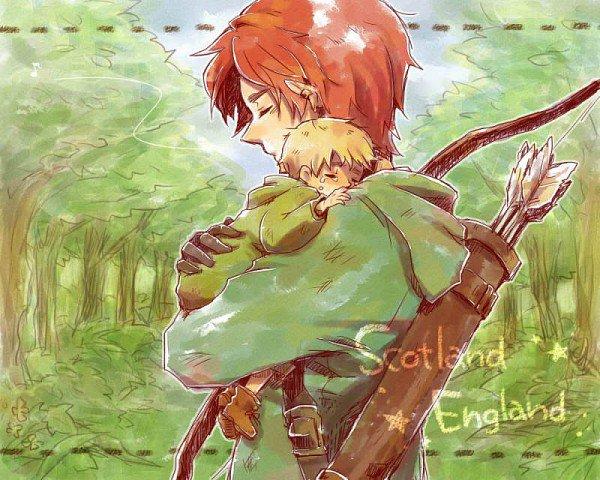 """Fan-art""""Scotland"""""""