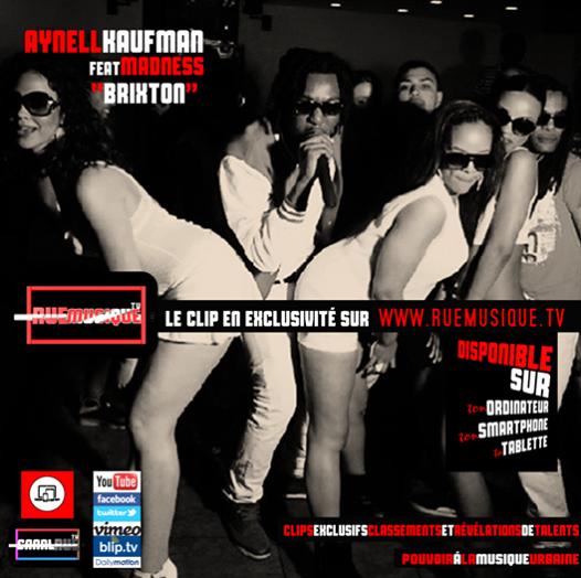 """Aynell Kaufman le clip exclusif de """"BRIXTON"""" à découvrir sur www.ruemusique.tv"""