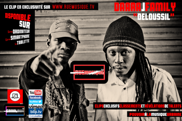 leur musique c'est de la recherche, de la trouvaille même. Ils valsent avec une habilité extraordinaire entre le Rap, le Reggae, la soul, le terroir sénégalais…  (Découvrez leur clip exclusif et lire l'article sur www.ruemusique.tv ) DAARA J FAMILY  http://www.ruemusique.tv/DAARA-J-FAMILY-Deloussil-ALBUM-2014-SENEGAL-Real-SERIAL-KILL_v154.html