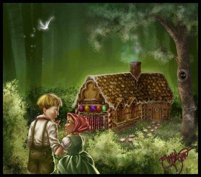 Les vrais des histoires des contes(hansel et gretel)