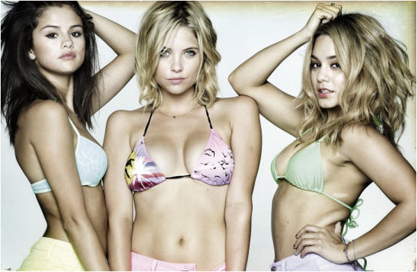 × Nouvelle promo de Spring Breakers avec Vanessa, Ashley et Selena