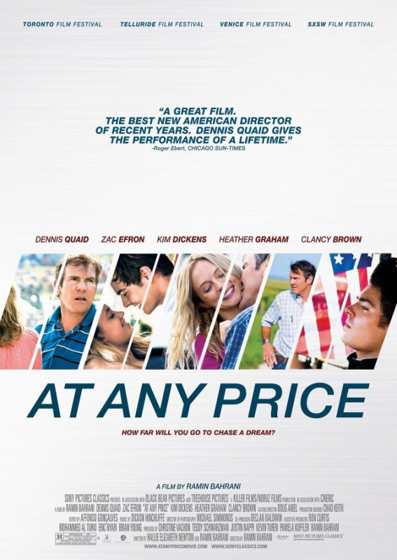 × Poster officiel d'At Any Price :-)