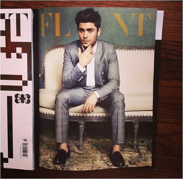 × Zac pour Flaunt Magazine ♥