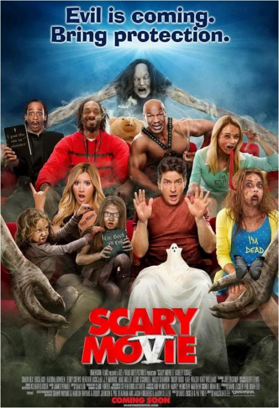 × Scary Movie 5 : le poster dévoilé !