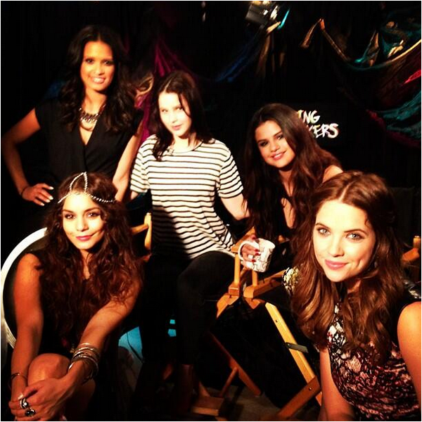× Press junket de Spring Breakers ce 15 mars 2013 à Los Angeles avec Vanessa, Selena, Ashley et Rachel
