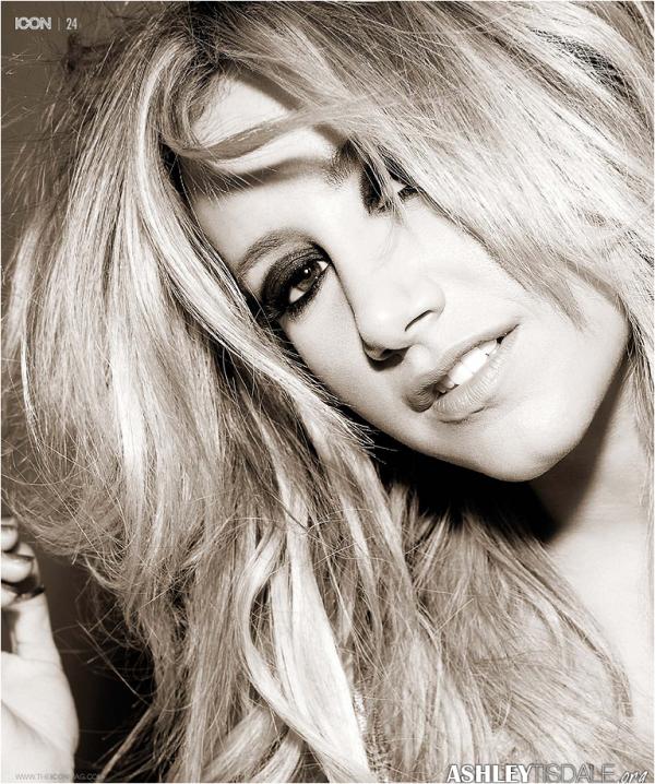 × Nouveau photoshoot (magnifique) d'Ashley pour le magazine Icon (2013) ♥