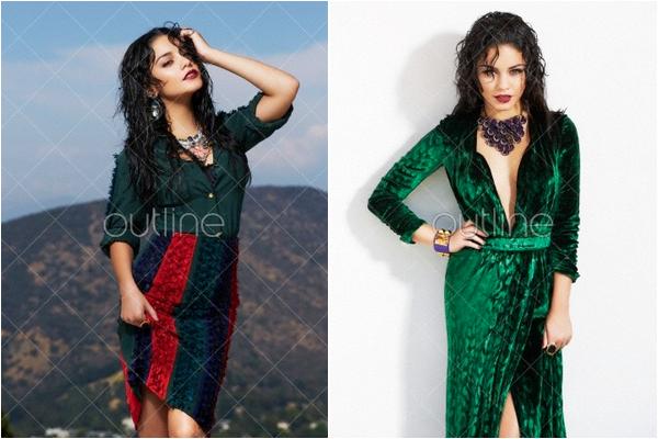 × Photoshoot de Vanessa pour Harper's Bazaar Arabie