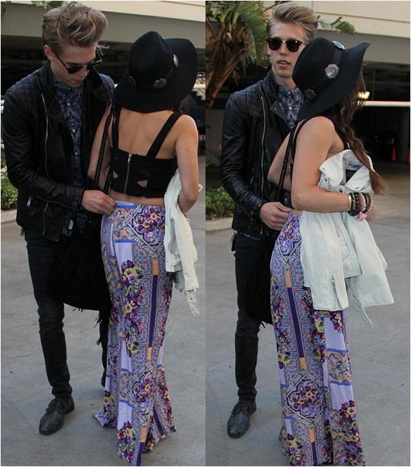 × Vanessa et Austin au concert des Rolling Stones