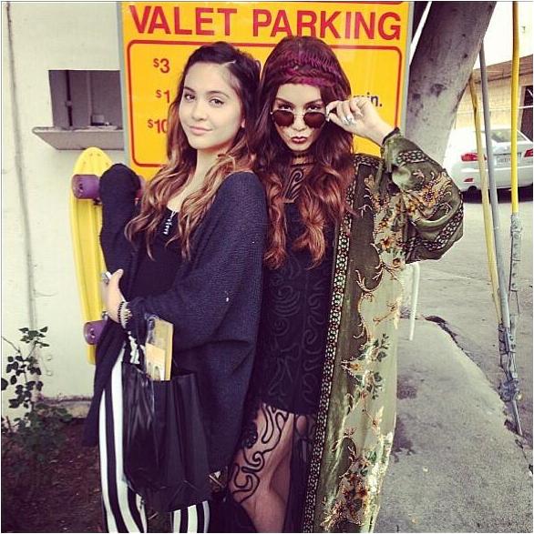 × Une hippie dans les rues de LA