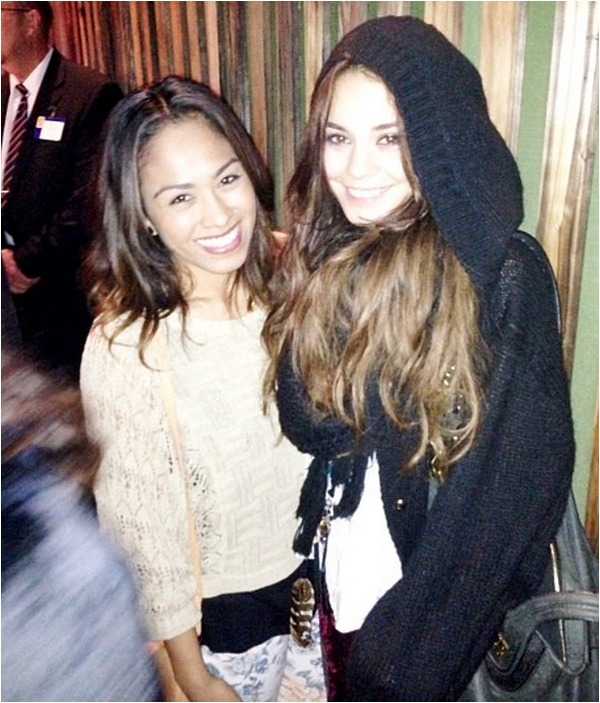× 7 juin 2013 : Vanessa au concert de Hillsong United au Hollywood Bowl