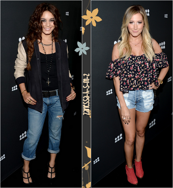 Vanessa VS Ashley : qui avait le plus beau look à la soirée de lancement du nouveau MySpace ?