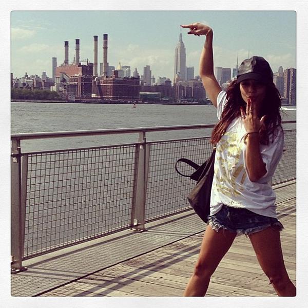 × Vanessa est à New-York !