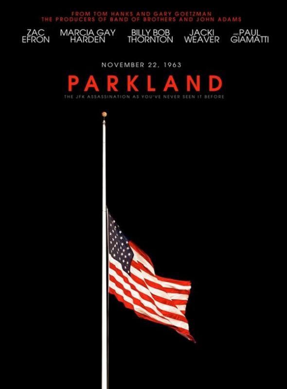 Découvrez le poster de Parkland en attendant sa bande-annonce qui sortira le 19 août ! :-)