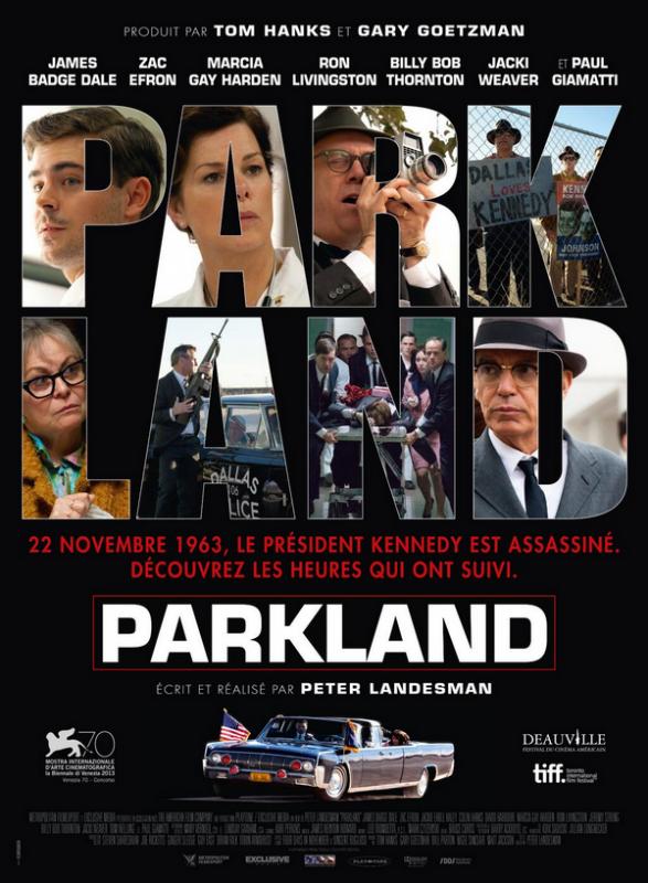 Parkland : l'affiche française du film !