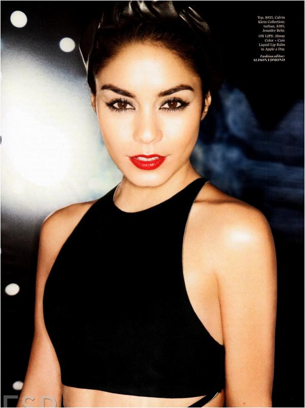 × Vanessa pour Marie Claire USA - octobre 2013 ♥