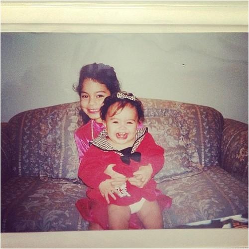 Vanessa & Stella petites ♥ Photo dévoilée par Vanessa sur Tumblr