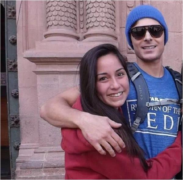 Zac et des fans au Pérou