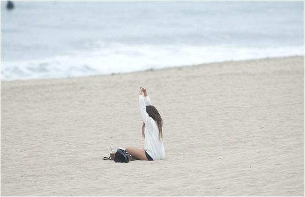 Matinée à la plage