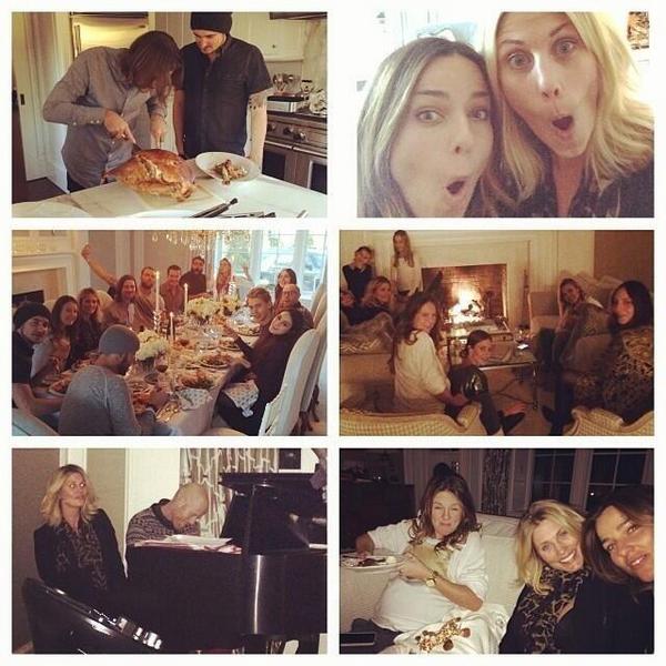 × Vanessa passe Thanksgiving avec Austin et des amis ! :-)