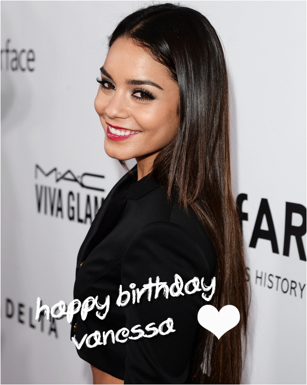 × Joyeux 25e anniversaire Vanessa :D