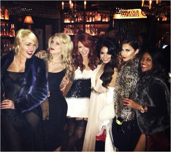 Vanessa Hudgens birthday party