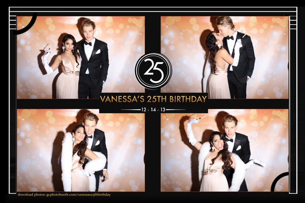 × Photobooth de l'anniversaire de Vanessa :-)