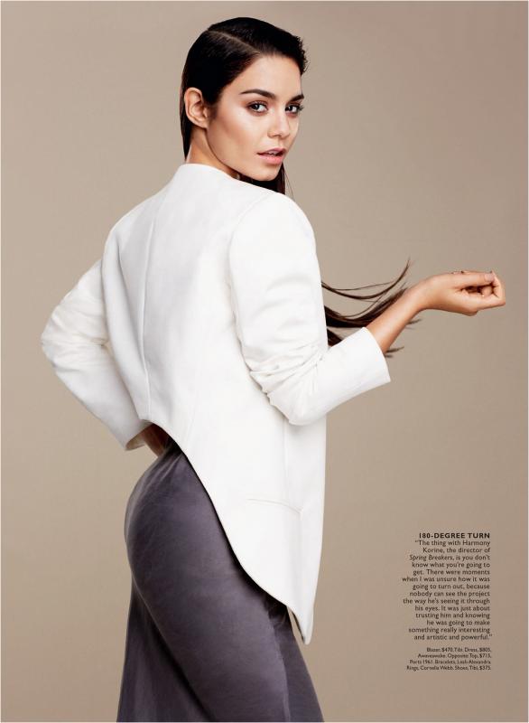 Flare Magazine avec Vanessa en couverture : les scans