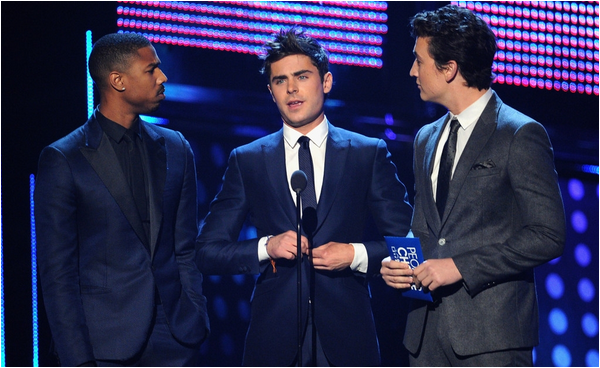 × Zac aux People's Choice Awards 2014