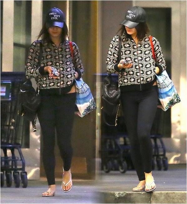 Vanessa photographiée après avoir fait ses courses au Ralph's à Los Angeles ce 18 janvier 2014