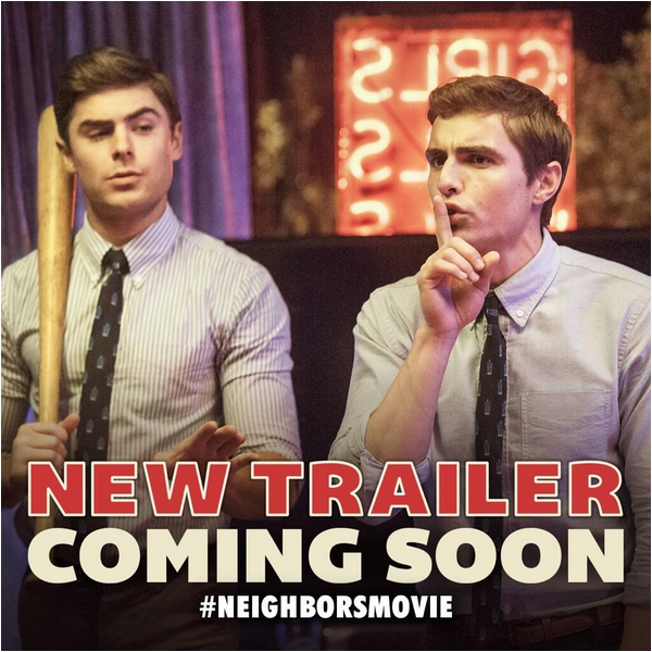Neighbors au SXSW Film Festival