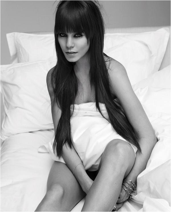 × Photoshoot de Vanessa pour W magazine
