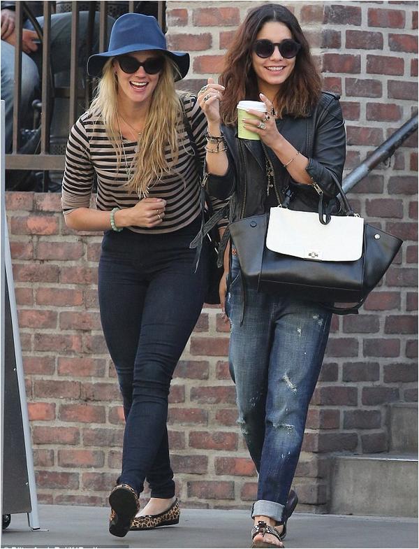 Vanessa et Laura au Urth Cafe - 25 mars 2014 :)