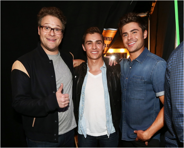 × Zac aux 2014 MTV Movie Awards