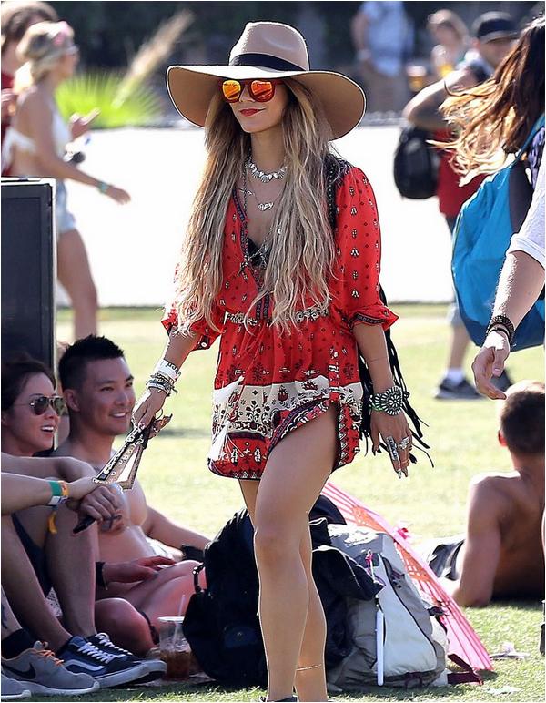 Vanessa au Coachella : jour 3