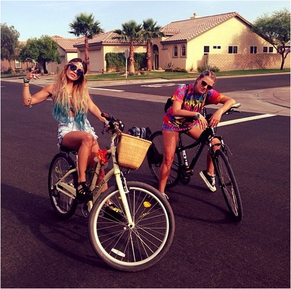 Vanessa, Austin et Shawn au Coachella