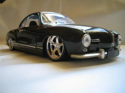 vw karmann ghia 1957 cal look tuning custom miniatures. Black Bedroom Furniture Sets. Home Design Ideas