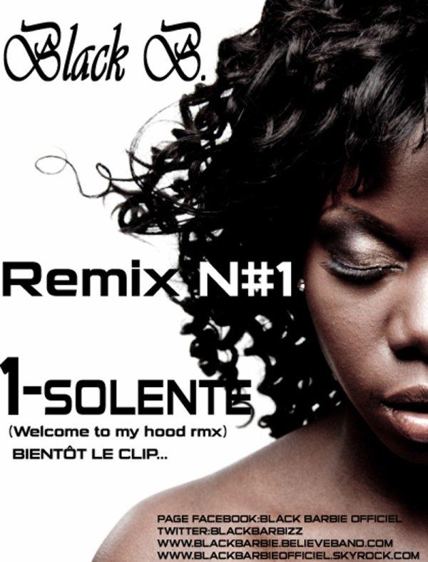 1-SOLENTE -BLACK B. RMX N#1 (2011)