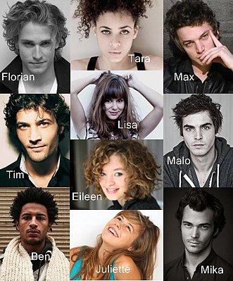 Les nouveaux personnages de la saison 5 :