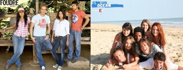 """France 2 arrête """"Coeur Océan"""" et """"Foudre"""""""