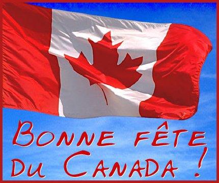 Bonne fête du CANADA!