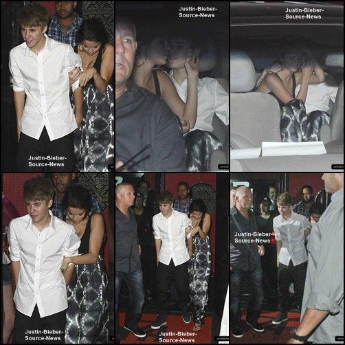 05/10/11: Chante avec des fans brésiliens, Copacabana Palace + Justin & Selena sortent d'un restaurant, Rio de Janeiro