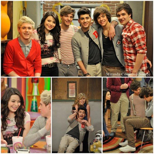 """Découvrez les Stills de l'épisode """"iGo One Direction"""" d'icarly"""