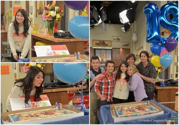 icarly célèbre les 19 ans de Miranda