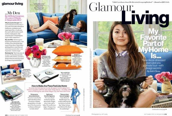 "Scan du magazine ""Glamour Magazine"""