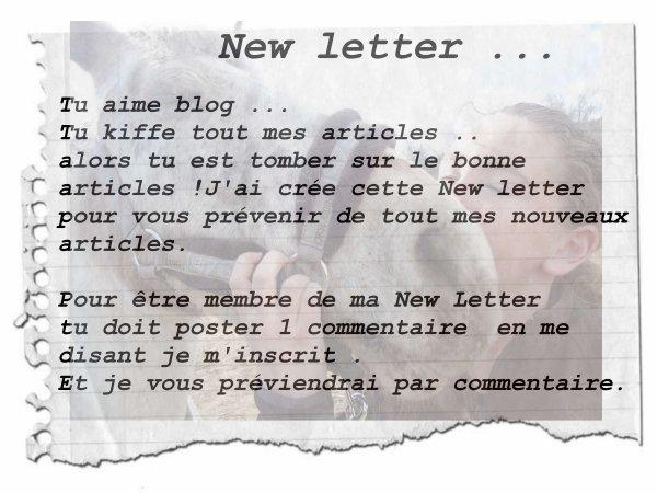 New letter  !