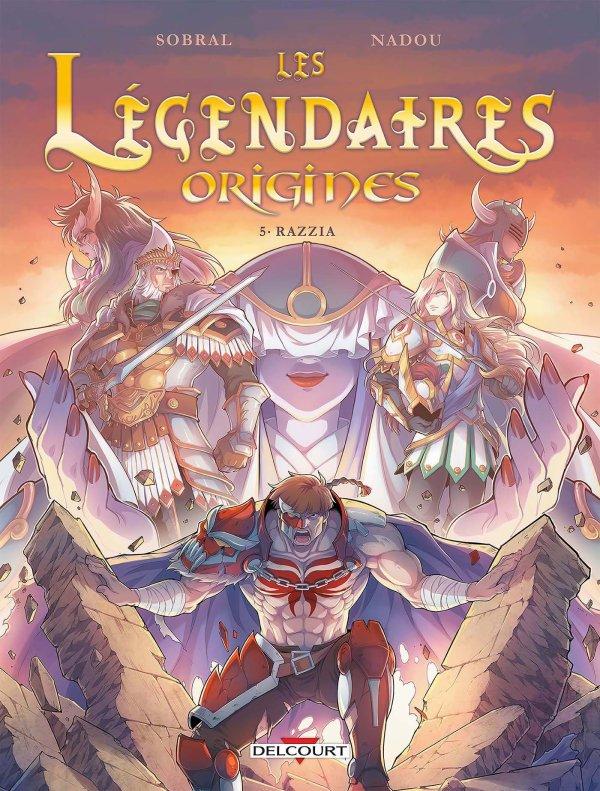 Critique BD #1 : Les Légendaires