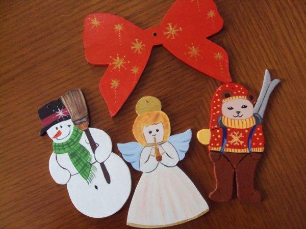 Début des décorations de Noel